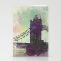 bridge Stationery Cards featuring Bridge by Nechifor Ionut