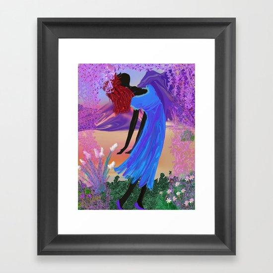 chiva Framed Art Print