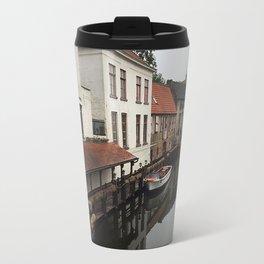 Canal in Brugge Travel Mug