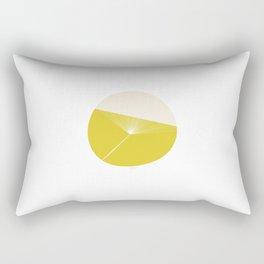 Retro Mod Flowers #3 by Friztin Rectangular Pillow