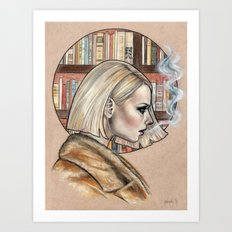 Margot Art Print