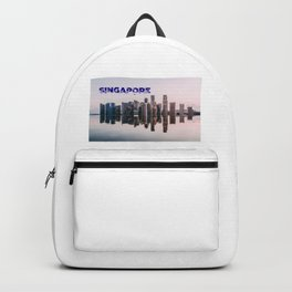 Singapore Skyline 2018 Backpack