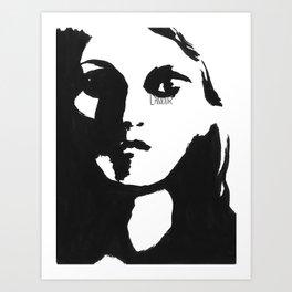 Instants d'amour Art Print