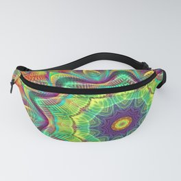 Flower Of Life Mandala (Explosion of Colors) Fanny Pack