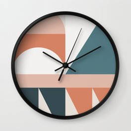 Cirque 03 Abstract Geometric Wall Clock