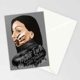 #MMIW Black Stationery Cards