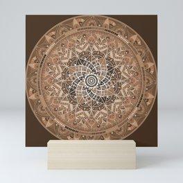 Terra Mandala Mini Art Print
