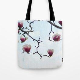 Pink spring blossom Tote Bag