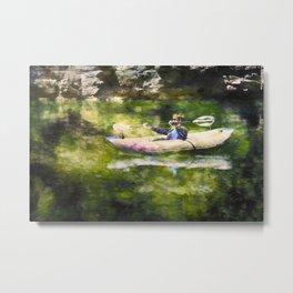 Colorado River Ducky Metal Print