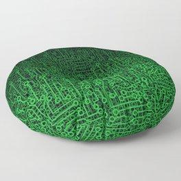 Reboot II GREEN Floor Pillow