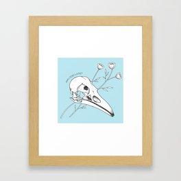 Am I too late? Framed Art Print