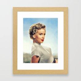 Deborah Kerr, Hollyood Legend Framed Art Print