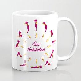 Sun Salutation Coffee Mug