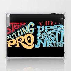Stop Putting The PRO in Procrastination Laptop & iPad Skin