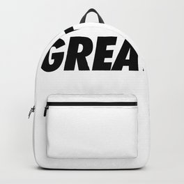 Greatness Backpack