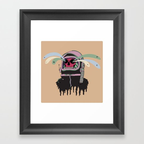 Dead Space: The Spirits Escape Framed Art Print