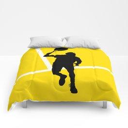 TENNIS Forehand Lines Comforters