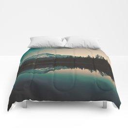 Morning Mountain Adventure Comforters