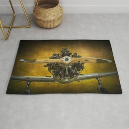 Front End of a Fairchild PT-23 Cornell Monoplane Rug