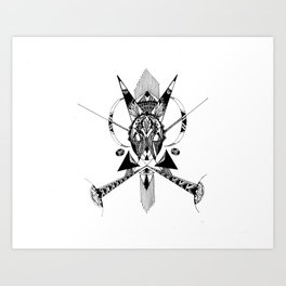 rabbit Art Print