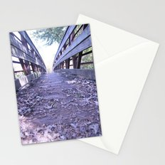 Path less travelled Stationery Cards