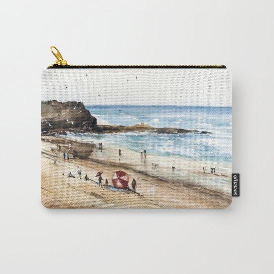 Rhodian shoreline Carry-All Pouch