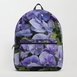 Pansy flower Backpack