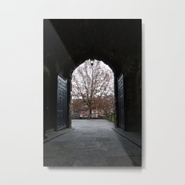 Nottingham Castle Gate Metal Print