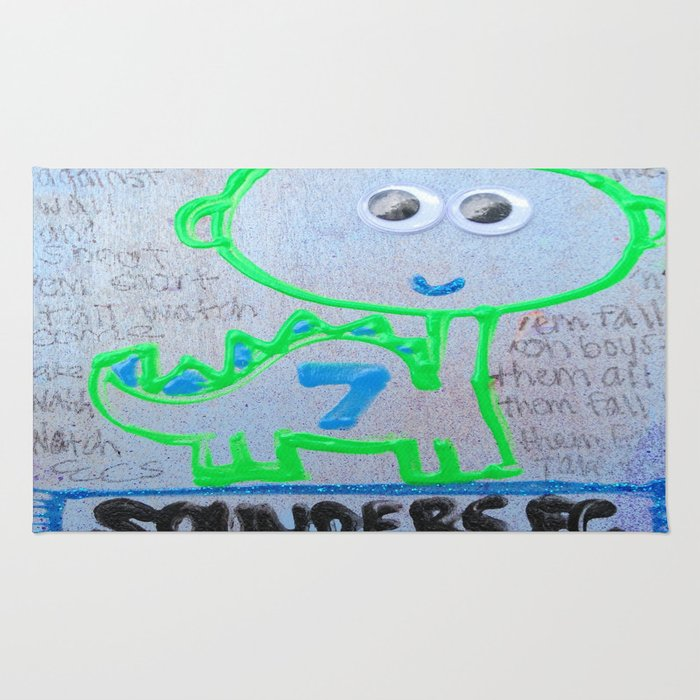 Seattle Sounders Dino Rug