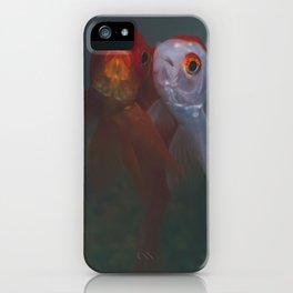 Two Goldfish iPhone Case