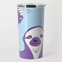 Sloth says HI Travel Mug