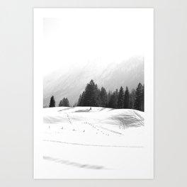 Winterwonderland Art Print