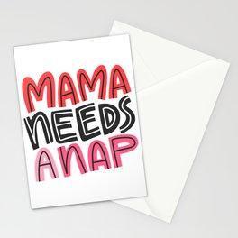 Mama Needs a Nap Stationery Cards