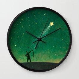 Star Archer Wall Clock