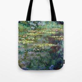 Claude Monet Le Bassin des Nympheas Tote Bag