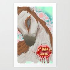 oh dear Art Print