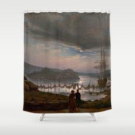View from Vaekero near Christiania, Johan Christian Dahl, 1827 Shower Curtain