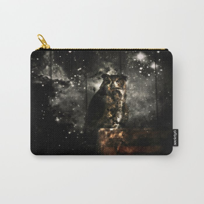 Owl Eyes on You Carry-All Pouch