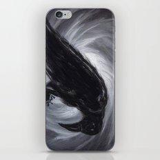 Dream the crow black dream. iPhone & iPod Skin