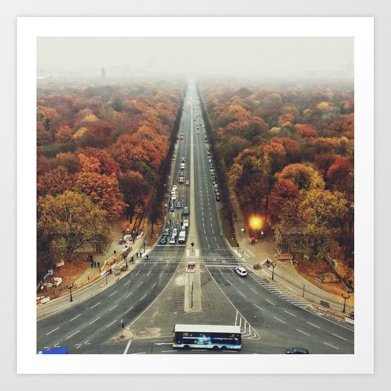 first we take manhatten than we take berlin I - autumn Art Print