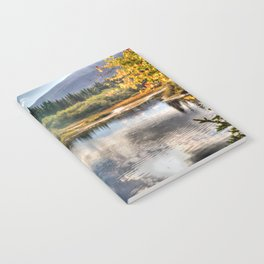 Fall Fly Fishing in Maine Notebook