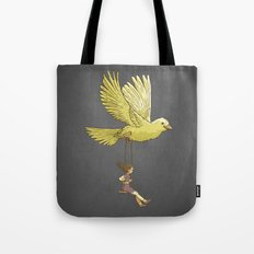 Higher... up to the sky!! Tote Bag