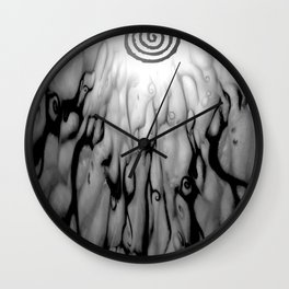Plague Upon Us Wall Clock