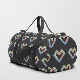 le coeur impossible (pattern) Duffle Bag
