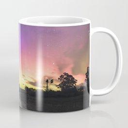 Aurora Australis, Drouin - Australia Coffee Mug