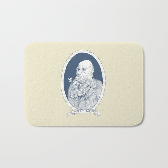 By Darwin's Beard Bath Mat