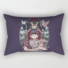 Merry Critter Christmas (South Park) Rectangular Pillow