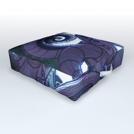 Kraken Up Outdoor Floor Cushion