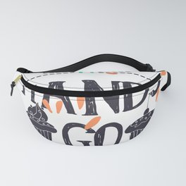 Hands Go Here Cupcake Fanny Pack