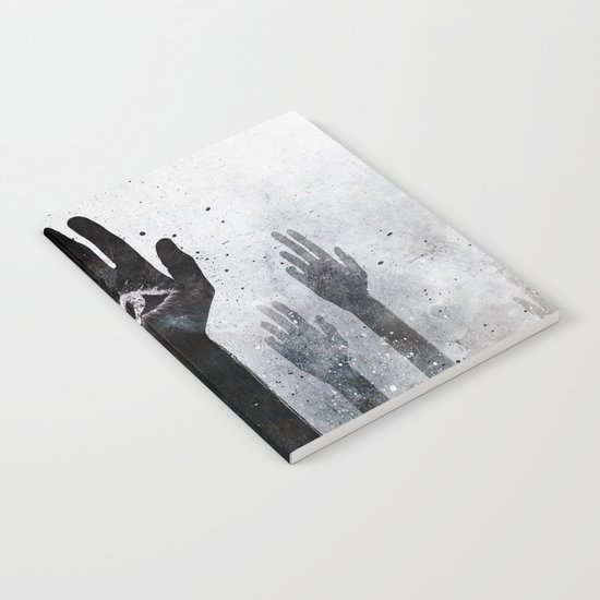 Hands & Eyes #Abstract Notebook